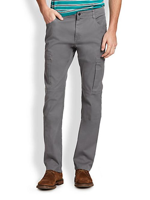 Slim-Fit Cargo Pants by Michael Kors in Into the Storm