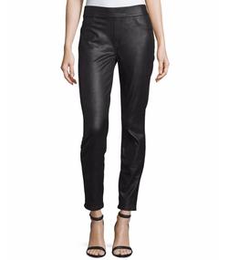 Napa Leather-Like Ponte Skinny Jeans by Jen17 in Power