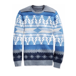 Zig Zag Geo Sweater by American Rag in New Girl