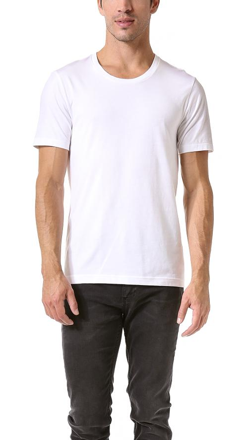 Classic Crew Neck T-Shirt 3 by BLK DNM in A Walk Among The Tombstones