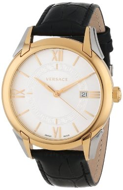 """Apollo"" Rose Gold Ion-Plated Stainless Steel Casual Watch by Versace in The Gambler"