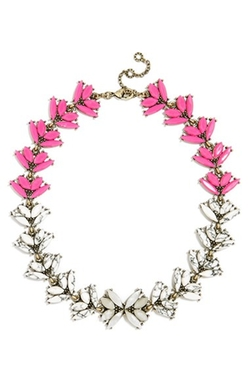 'Botanica' Crystal Collar Necklace by BaubleBar in Fuller House