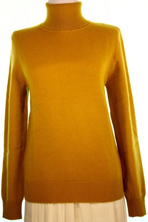 Women's 4 Ply Turtleneck Cashmere Sweater by Shephe in The Boy Next Door