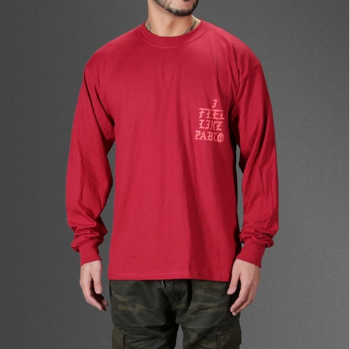 I Feel Like Pablo Long Sleeve T-Shirt by Yeezy in Keeping Up With The Kardashians - Season 12 Episode 9