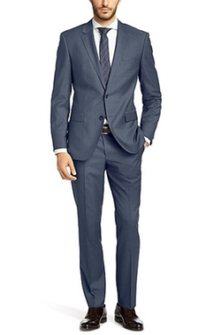 'The Keys12/shaft2' In New Wool Regular-Fit Suit by Hugo Boss in House of Cards