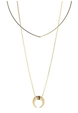 Pendant & Choker Layering Necklaces by Charlotte Russe in Scream Queens