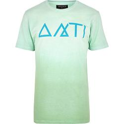 Light Green Antioch Print T-shirt by River Island in Wish I Was Here
