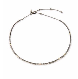 Crystal Spike Choker Necklace by Alexis Bittar in Scream Queens