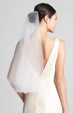 'Madeline' Two Tier Circle Veil by Wedding Belles New York in American Sniper