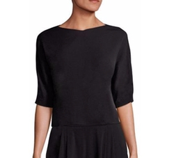 Ialia Crepe Top by Boss in Grace and Frankie