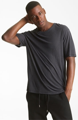 'Pilly' Crewneck T-Shirt by T by Alexander Wang in Empire