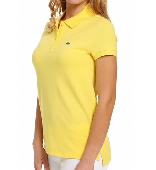 Short Sleeve Pique Polo Shirt by Lacoste in Wet Hot American Summer