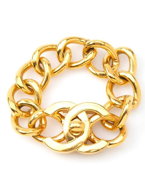 Turnlock Bracelet by Chanel Vintage in The Other Woman