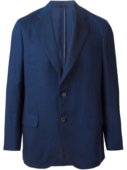Two Button Blazer by Brioni in Steve Jobs