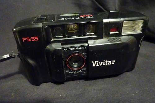 PS:35 Point N' Shoot Camera by Vivitar in The Best of Me