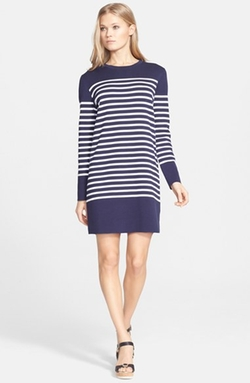 Stripe T-Shirt Dress by Michael Kors in Atonement