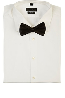 Satin Double-Layer Bow Tie by Barneys New York in Wedding Crashers