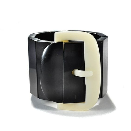Bakelite Art Deco Buckle Bracelet by Marion Godart in The Man from U.N.C.L.E.