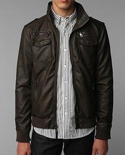 Faux-Leather Moto Jacket by Charles & 1/2 in Brooklyn Nine-Nine