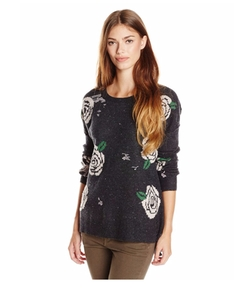 Venice Canal Shredded Roses Sweater by Wildfox in Pretty Little Liars