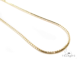 Yellow Gold Adjusable Length Necklace by Traxnyc in Dope
