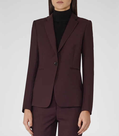 Ricca Jacket Single-Breasted Blazer by Reiss in The Good Wife - Season 7 Episode 10