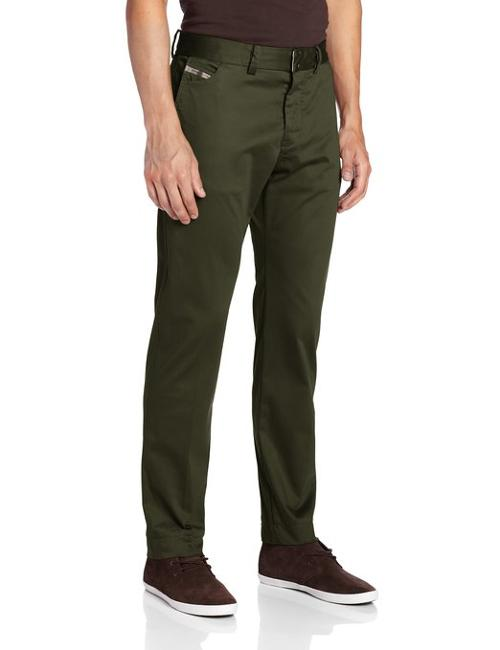 Men's Chi-Regs-A Satin Shine Pant by Diesel in Mortdecai
