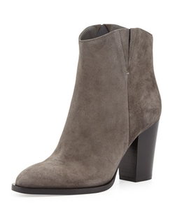 Erving Western Ankle Bootie by Vince in Fuller House