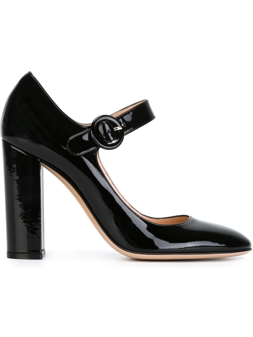 'Lorraine' Pumps by Gianvito Rossi in Focus