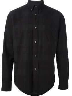 Plaid Button-Down Shirt by Our Legacy in Horrible Bosses 2