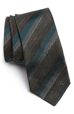 Woven Silk Blend Tie by Burberry London in Yves Saint Laurent