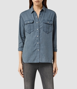 Octavia Shirt by All Saints in The Flash