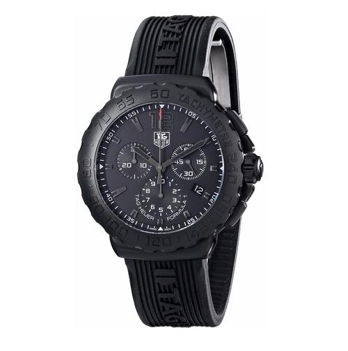 Matt Damon Tag Heuer 'Formula 1' Black Dial Chronograph ...