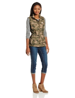 Women's El Paso Ripstop Utility Vest by Carhartt in The DUFF