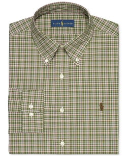 Multi-Check Dress Shirt by Polo Ralph Lauren in Master of None