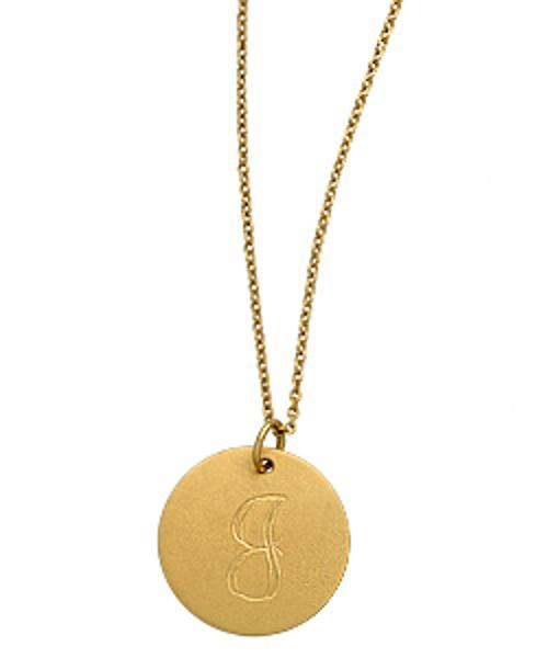 XS Monogram Necklace by Emily & Ashley in Transcendence