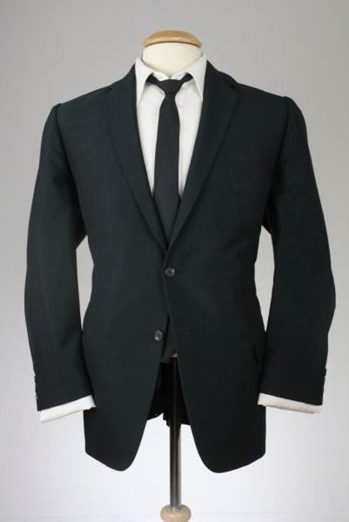 Vintage 2 Piece Wool Skinny Lapels Suit by Monkey Suit Vintage in Anchorman 2: The Legend Continues