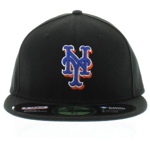 New York Mets Authentic Collection On-Field 59FIFTY Alternate Cap by New Era in Gone Girl
