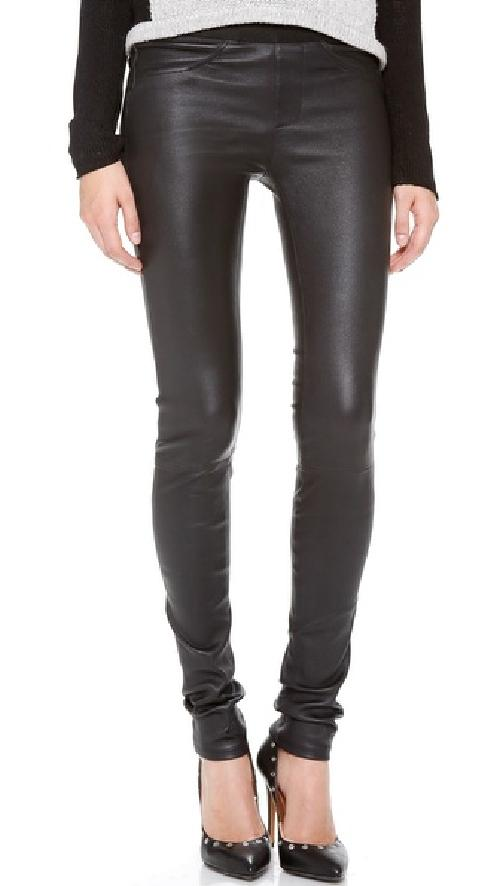 Stretch Leather Pants by Helmut Lang in Vampire Academy