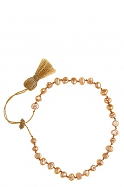 Petite Freshwater Pearl Bracelet by Calypso St. Barth in Forgetting Sarah Marshall