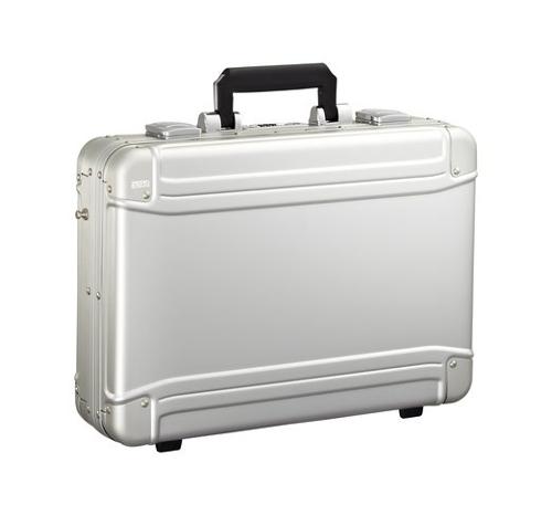 Geo Aluminum Large Laptop Case by Zero Halliburton in Entourage