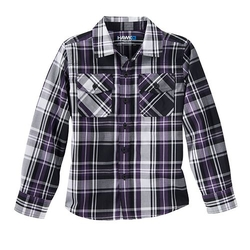 Plaid Poplin Button Down Shirt by Tony Hawk in Trainwreck