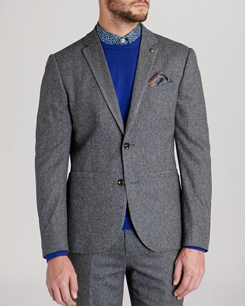 Forel Wool Flannel Blazer by Ted Baker in The Longest Ride