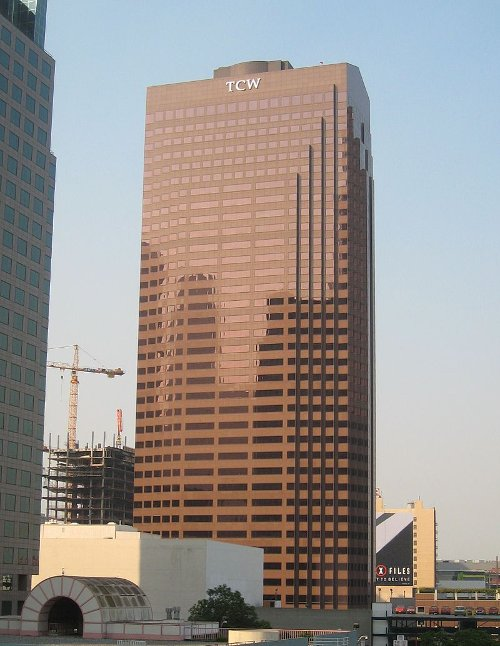 TCW Tower Los Angeles, California in Taken 3