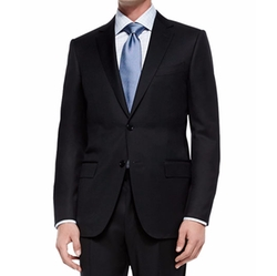 Solid Two-Piece Suit by Ermenegildo Zegna in Empire