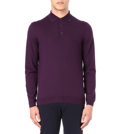 Banet Knitted Polo Shirt by Hugo Boss in How To Get Away With Murder - Season 2 Episode 8