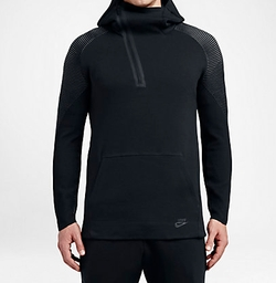 Tech Fleece Half Zip Hoodie by Nike in The Flash