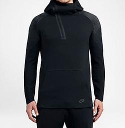 Tech Fleece Half Zip Hoodie by Nike in The Flash