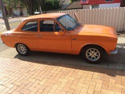 1970 Escort Coupe by Ford in Fast & Furious 6