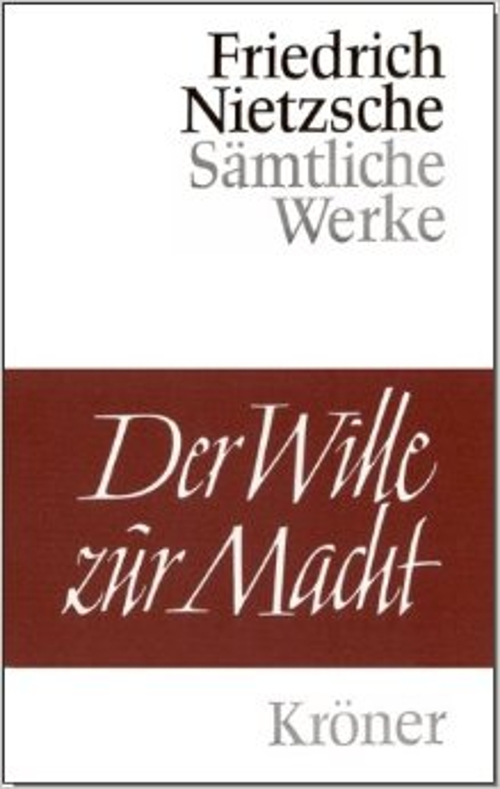 Der Wille Zur Macht Book by Friedrich Wilhelm Nietzsche (Author) in Absolutely Anything
